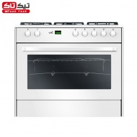 Gas Cooker Romina Digital White Sgc5   Rd2111n