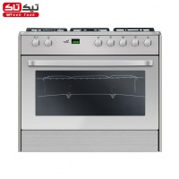 Gas Cooker Romina Self Cleaning Digital Steel Sgc5   Rd1311n 1145189187